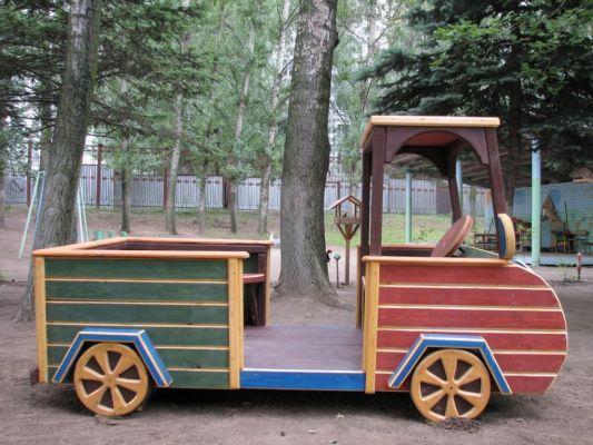 Машина деревянная своими руками для дачи